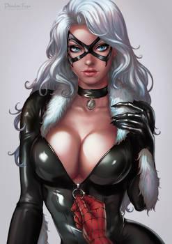 Black Cat Portrait
