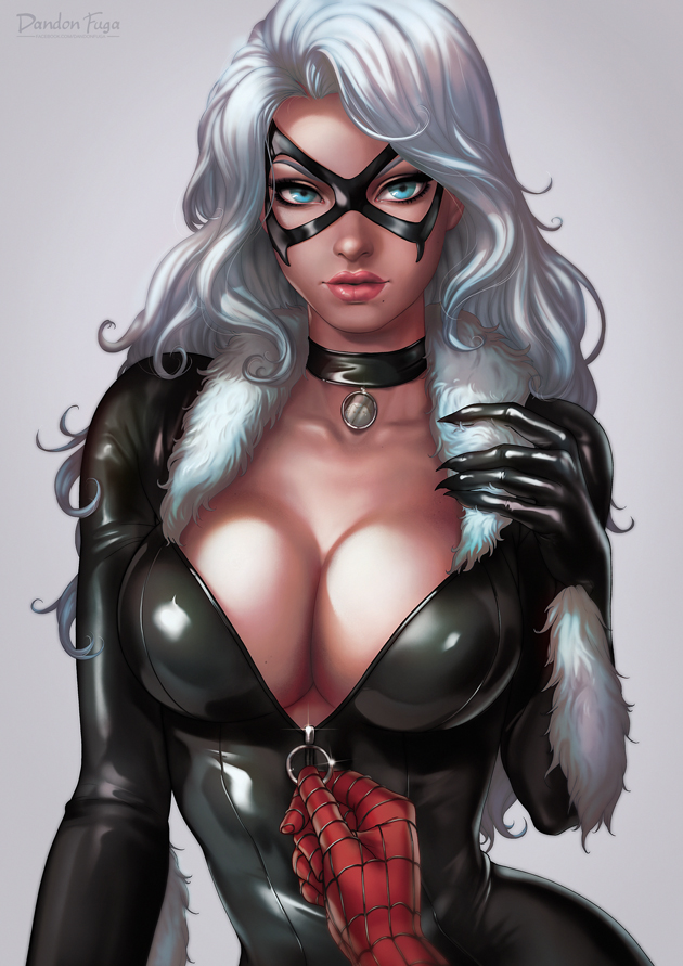 Black Cat Portrait By Dandonfuga On Deviantart