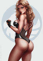 Black Canary by dandonfuga