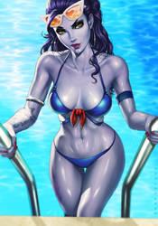 Summer Widowmaker by dandonfuga