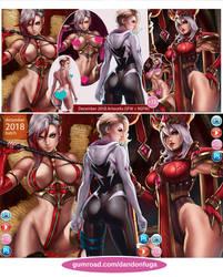 December artworks by dandonfuga