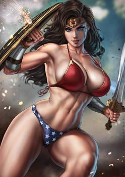 Wonder Woman Bikini Variant