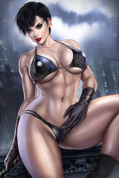 Catwoman bikini version