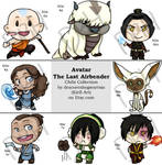 Chibi Collection - Avatar the Last Airbender