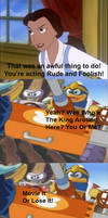 Belle's Angry At King Dedede And Escargoon