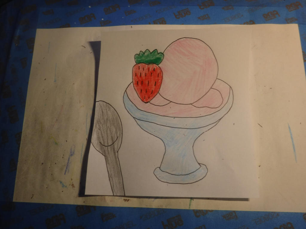 Strawberry Ice Cream Day by sydneypie