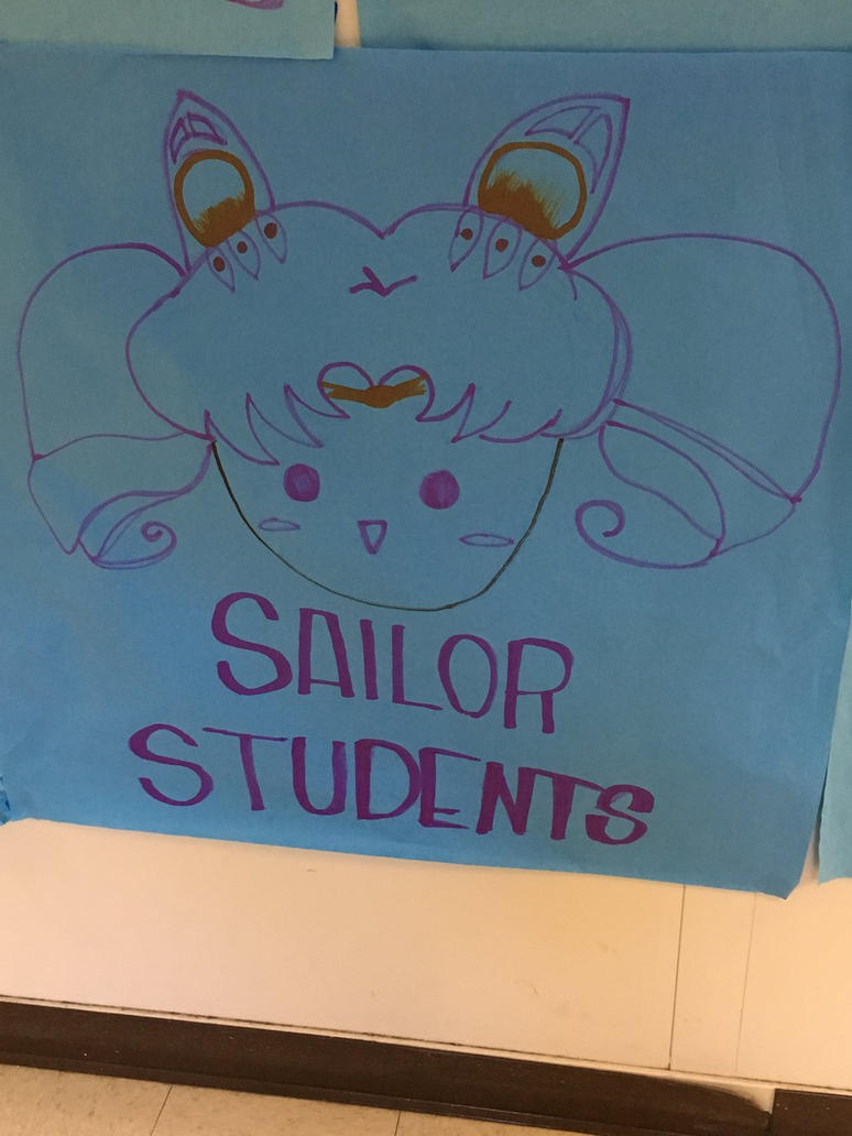Sailor Chibi Moon Supports Sailor Students by sydneypie