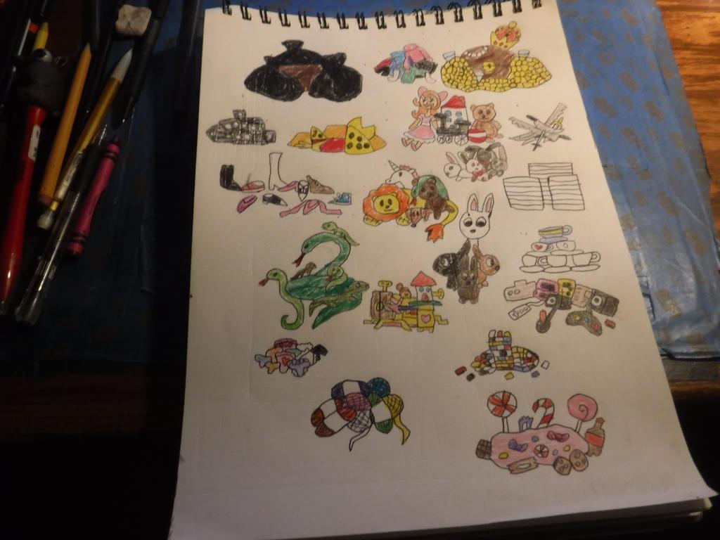 Sketchbook Assignment # 39 by sydneypie