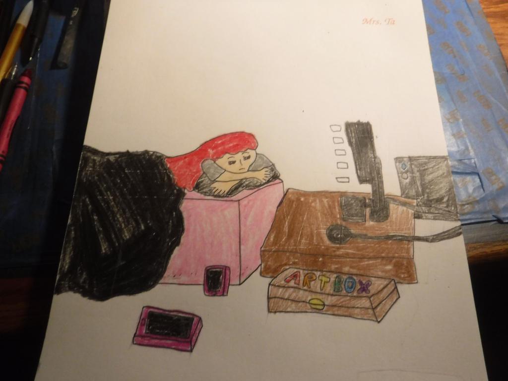 Sketchbook Assignment # 40 by sydneypie