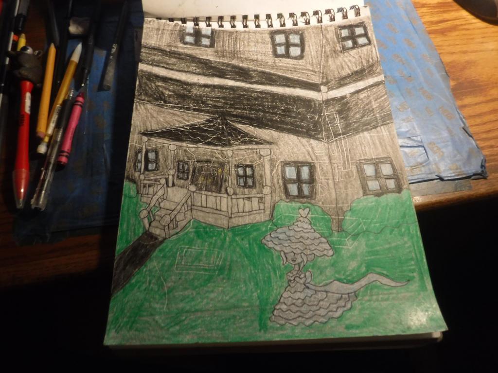 Sketchbook Assignment # 41 by sydneypie