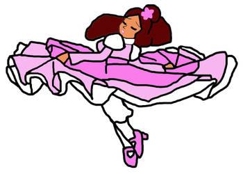 Twirling Gracefully Like A Ballerina by sydneypie