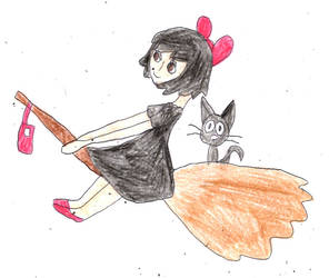 Kiki's Delivery Service by sydneypie