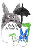 My Neighbor Totoro by sydneypie