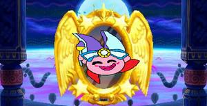 Amazing Mirror Kirby by sydneypie