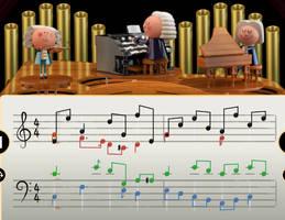 Celebrating Johann Sebastian Bach by sydneypie