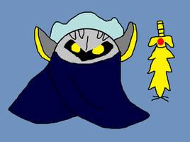 Meta Knight by sydneypie