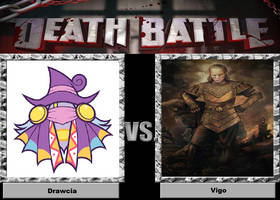 Death Battle: Monsters In The Paintings by sydneypie