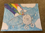 A Plane Of A Different Color by sydneypie