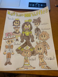 Magical Mothers: Mother Waffles