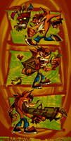 THE BANDICOOT IS BACK by DISTORTEDMACHINE