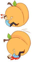 bones and the giant peach by dziwaczka