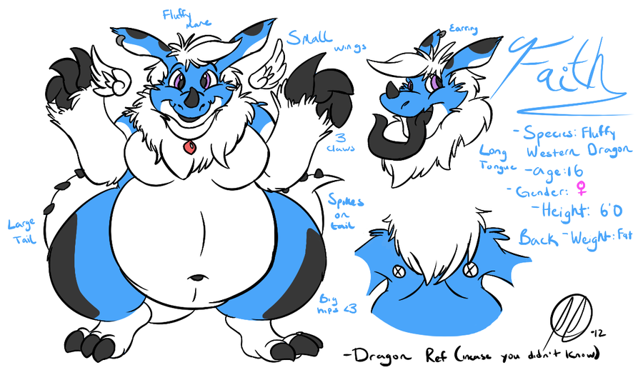 Faith Dragon Ref~ by PlumpProductions