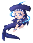 Sailor Tanzanite Hammerhead by wandering-kotka