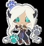 [C-S] Alpha Lynx Sticker by wandering-kotka