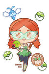 [Sticker] Nell and Friends by wandering-kotka