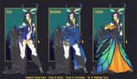 [Fashion] Bamharr Semiramis Lineup by wandering-kotka
