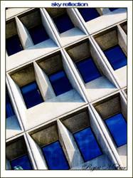 Sky Reflection by rickyrajat