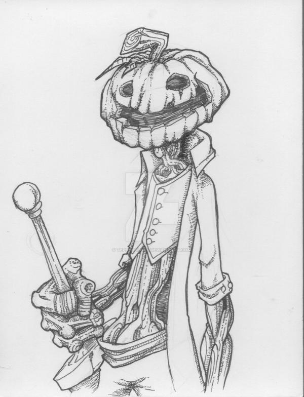 Sir Pumpkin Head by TePeYoLlOtL