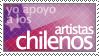 Chile stamp by PuroChile