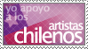 Chile stamp by PuroChile