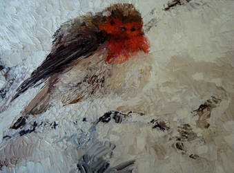 Winter Bird by Chibi-sempai