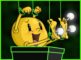 Pac-Man Tickled 5 by Lord-Reckless