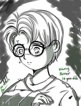 Harry Potter 10 years olds