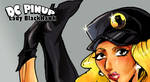 DC pinup: Lady BlackHawk by powerman2000