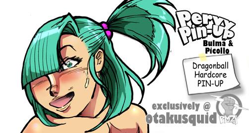 Pervy Pinup: Bulma X Piccolo by powerman2000