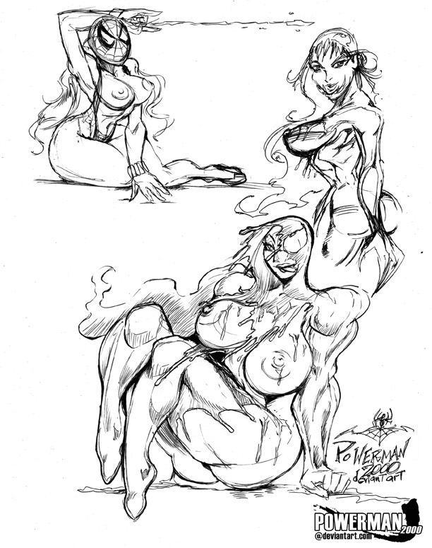 Marvel's Sexy Spider-Girls ??? by powerman2000