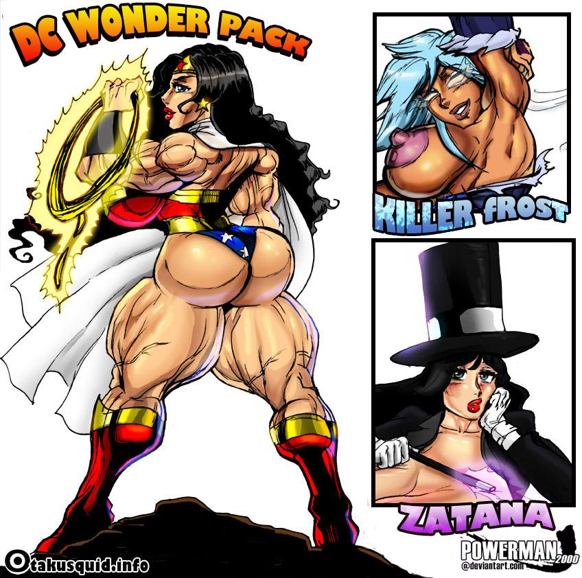 FMG- Fanart Friday- Wonder Woman (DC WONDER PACK) by powerman2000