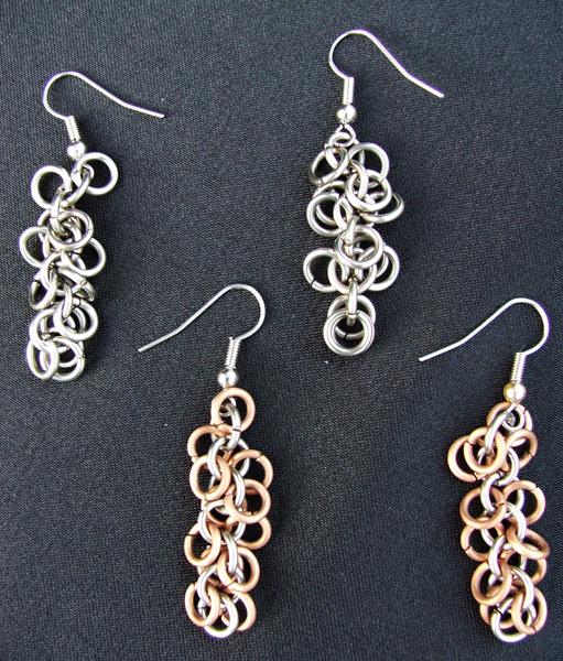Jingling Links Earrings by evilgamerkitty