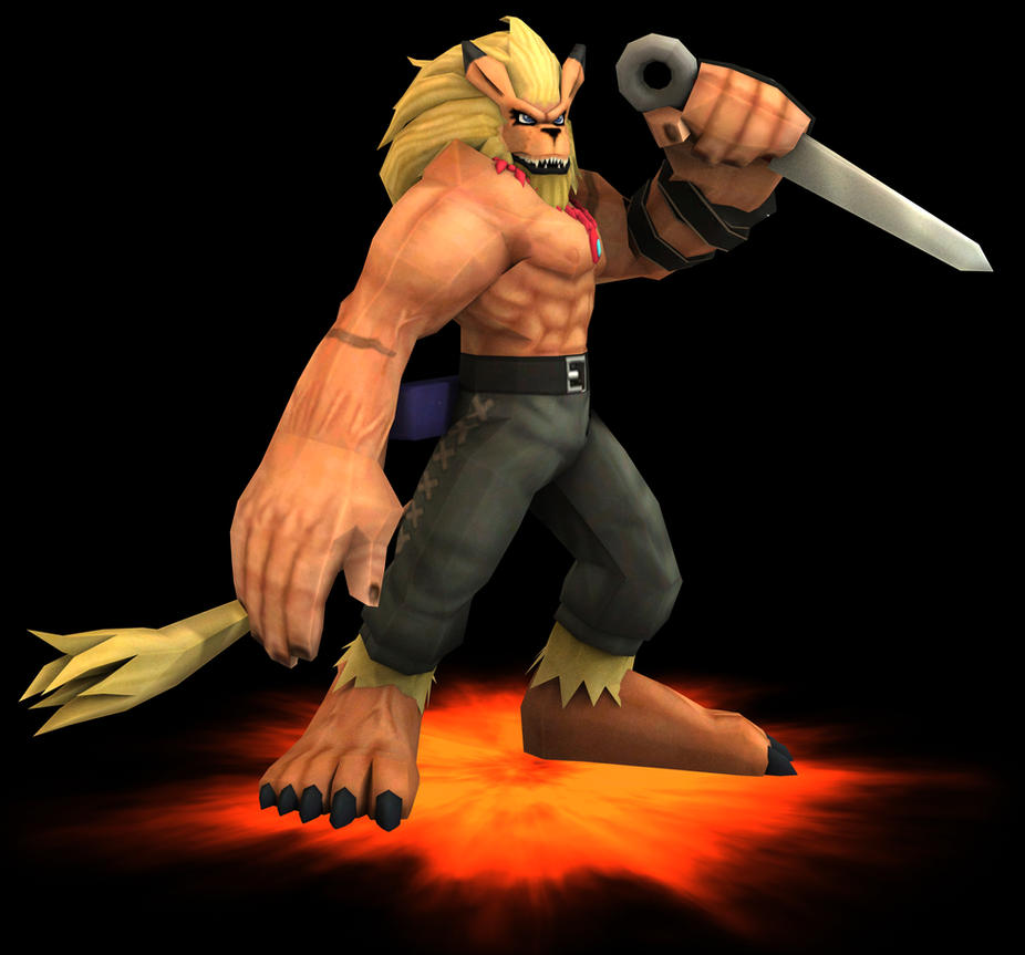 Rigged Leomon Model by TheDigital6