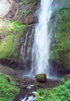 Waterfall heaven by JensStockCollection