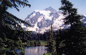 Mt Baker 3 by JensStockCollection