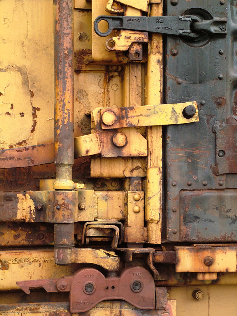 train yard 18 -  metal stuff by JensStockCollection