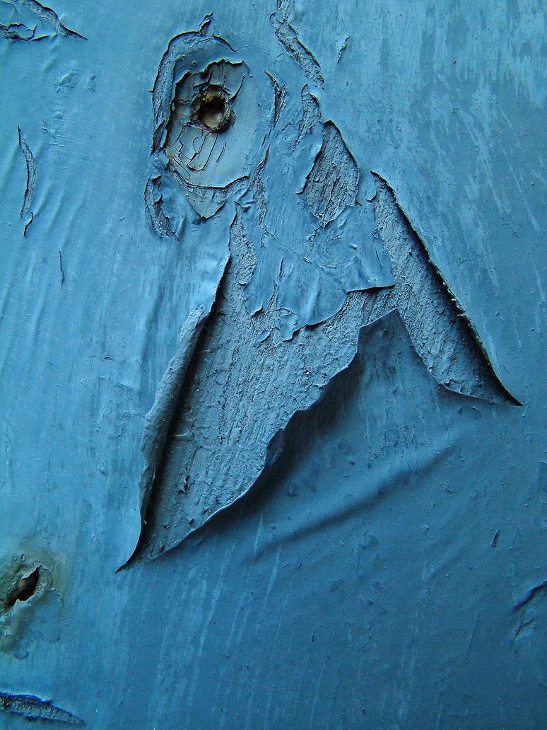 peeling paint by JensStockCollection