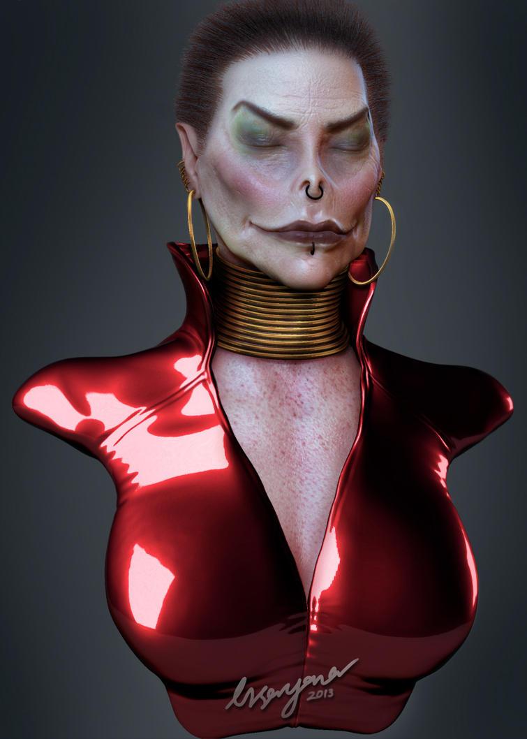 Vampire Queen by turx