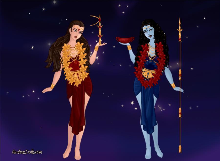 DeviantArt: More Like Forms of Kali : Goddesses Kalika and ...