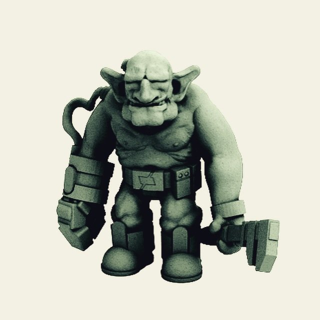Goblin Engineer by Dutch-Mogul